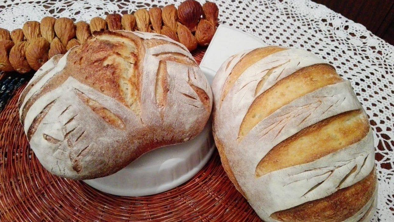 Pane di grano duro senza lievito aggiunto